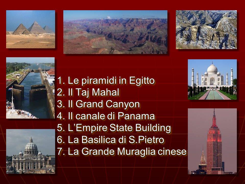 Sette meraviglie del mondo. Sette meraviglie del mondo.