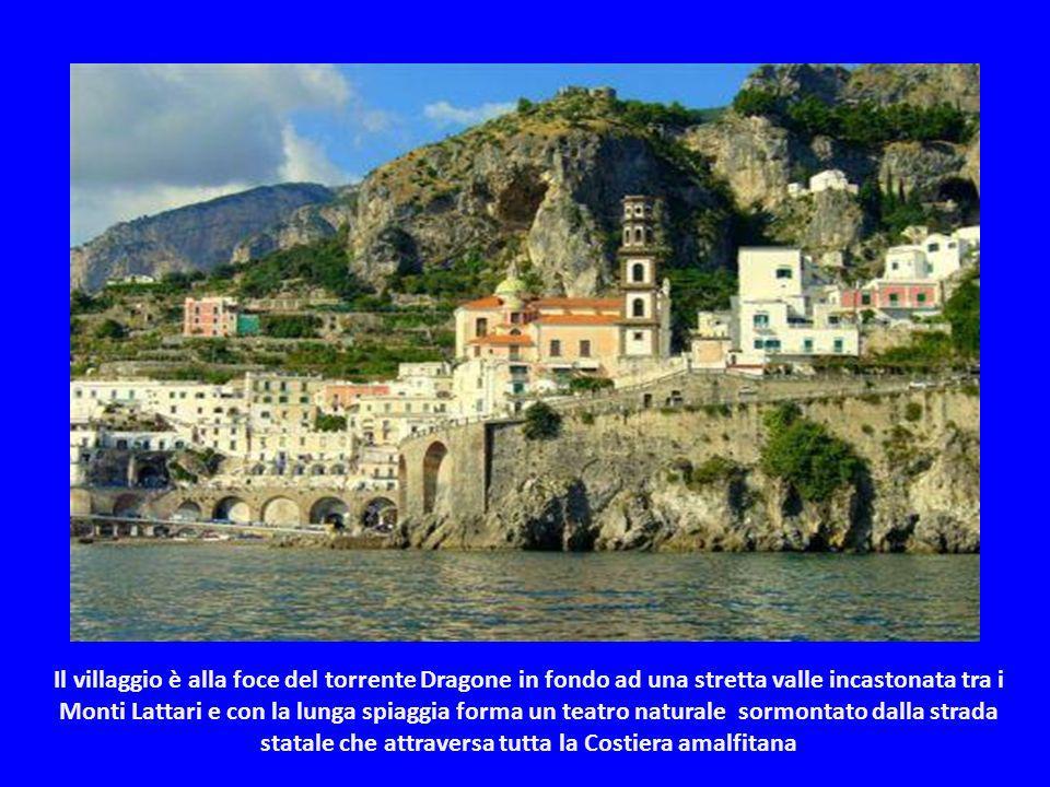 Atrani è un borgo marinaro e fà parte del Club dei borghi più belli dItalia. Con i suoi 0,20 km², Atrani è il più piccolo comune dellItalia Meridional