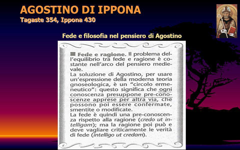 Fede e filosofia nel pensiero di Agostino