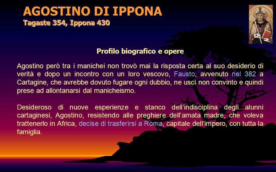 AGOSTINO DI IPPONA Tagaste 354, Ippona 430 Pavia, San Pietro in Ciel dOro – Urna con le spoglie di S.