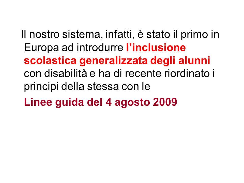 A seguito della legge 170/10 ha emanato le linee guida del 12 luglio 2011, relativamente allinclusione scolastica degli alunni con DSA.