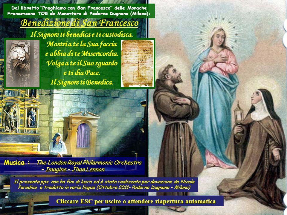 Appuntamento immancabile quindi per martedì 4 Ottobre ad Assisi o nelle proprie singole località per i Festeggiamenti di San Francesco, Patrono dItali