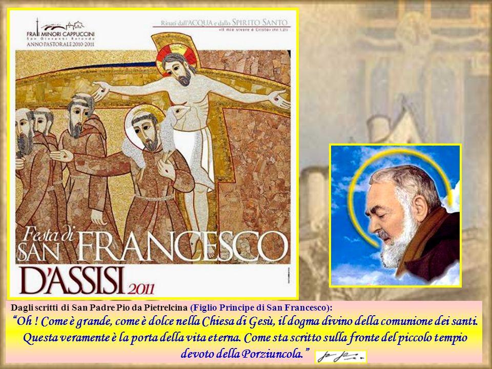 Dagli scritti di San Padre Pio da Pietrelcina (Figlio Principe di San Francesco): Oh .