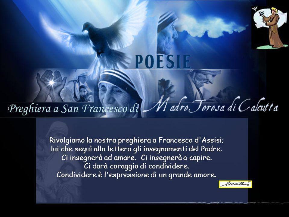 Preghiera a San Francesco di.
