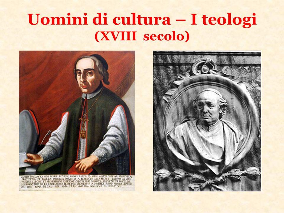 Uomini di cultura – I teologi (XVIII secolo)