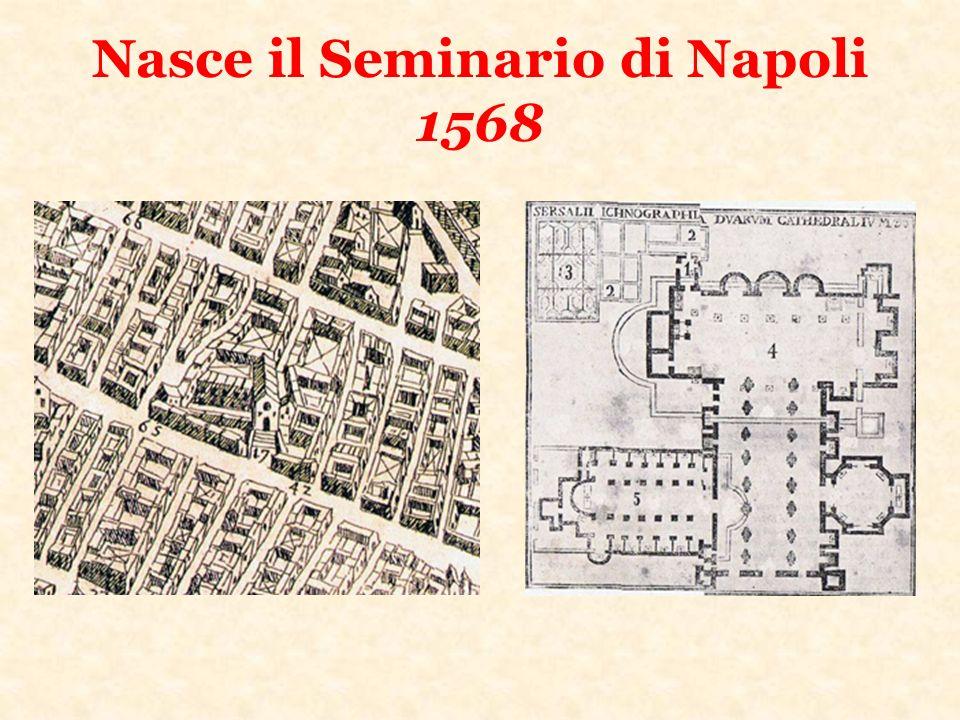 I primi superiori del Seminario Napoletano Giovanni Antonio Rotondo Giovanni Domenico Dalmazia Giovanni Antonio Visconte Giulio Cesare Mariconda