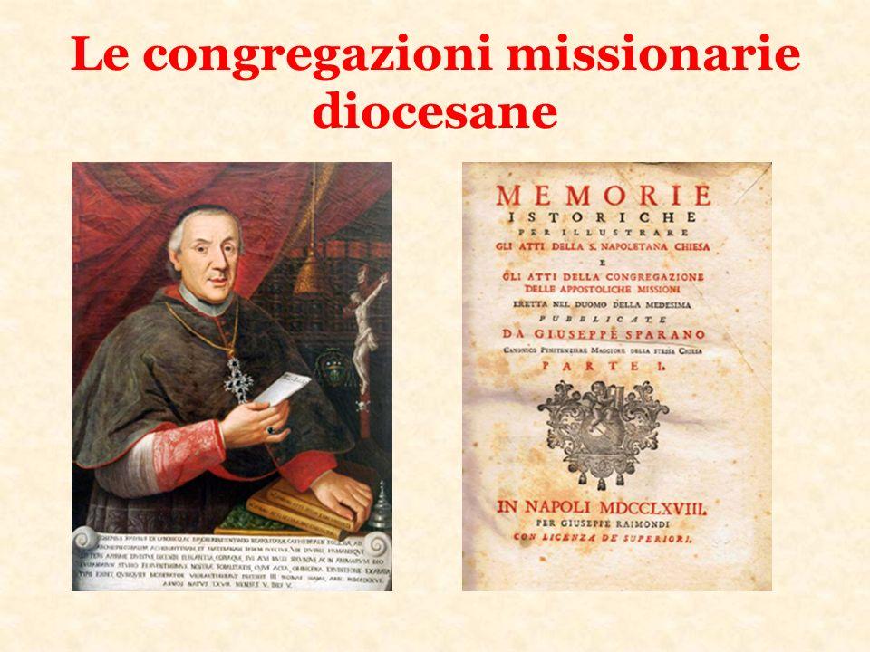 Le congregazioni missionarie diocesane