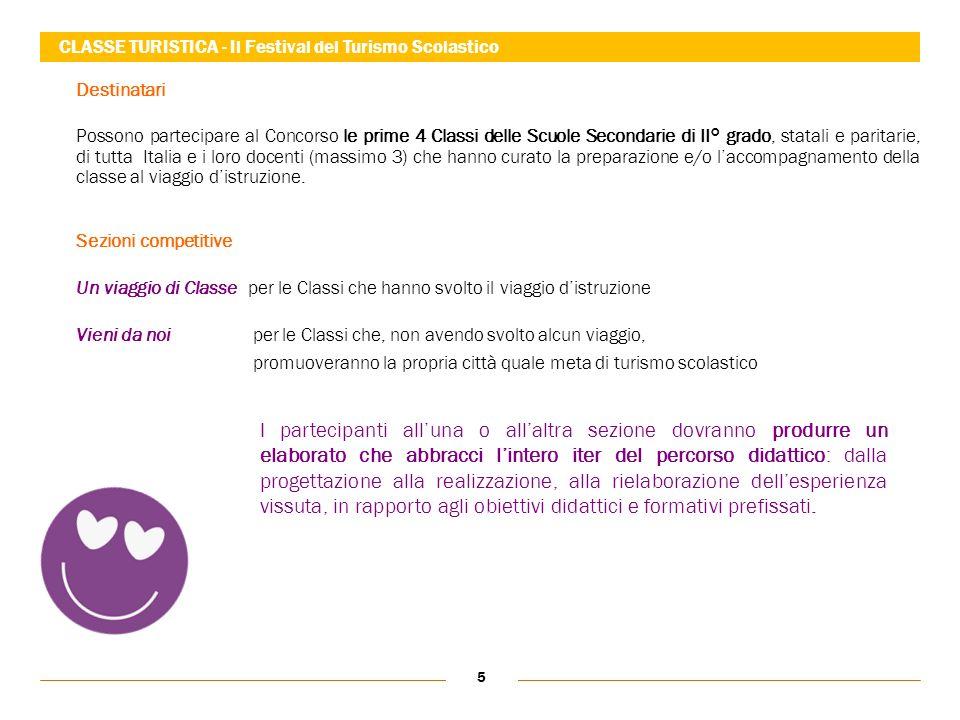 5 Destinatari Possono partecipare al Concorso le prime 4 Classi delle Scuole Secondarie di II° grado, statali e paritarie, di tutta Italia e i loro do