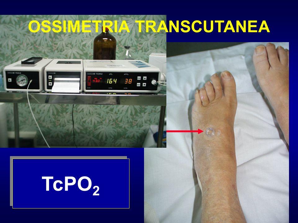 TcPO 2 OSSIMETRIA TRANSCUTANEA