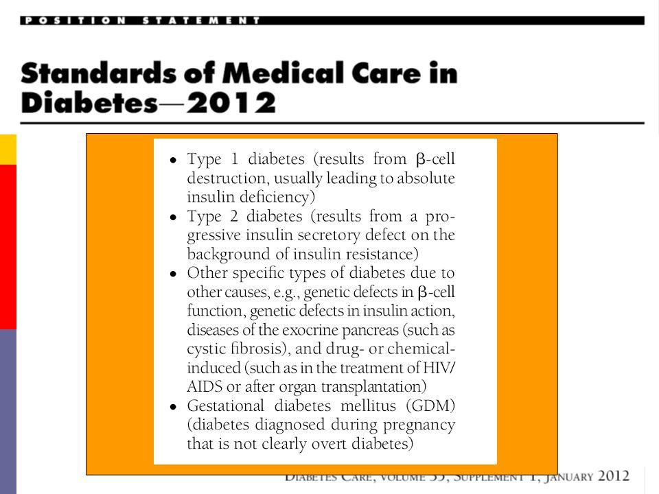 Gli Standard di cura del Diabete 2° Tipo: Un Traguardo Raggiungibile .