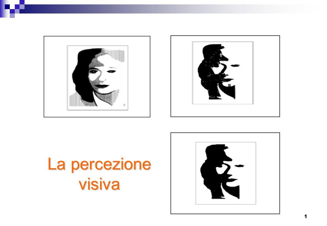1 La percezione visiva