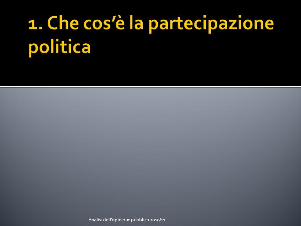 Le soglie istituzionali che definiscono storicamente laccesso delle masse al sistema politico in Europa occidentale (S.
