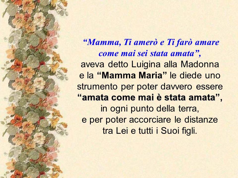 Storia dellimmagine lasciata dalla Vergine in un incontro con la Serva di Dio Luigina Sinapi (1916-1978) con il messaggio: