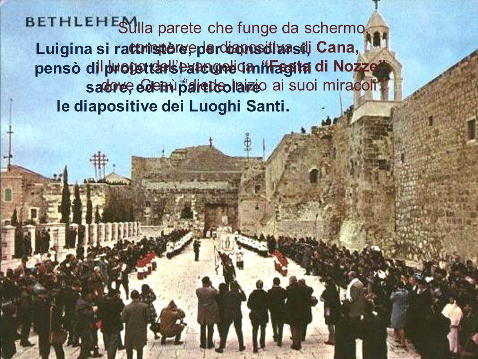 Come ogni primo sabato del mese, Luigina attendeva la visita della Mamma nella sua casa di via Urbino, a Roma, e più esattamente nella sua cappellina; ma quel sabato la Madonna non era venuta.
