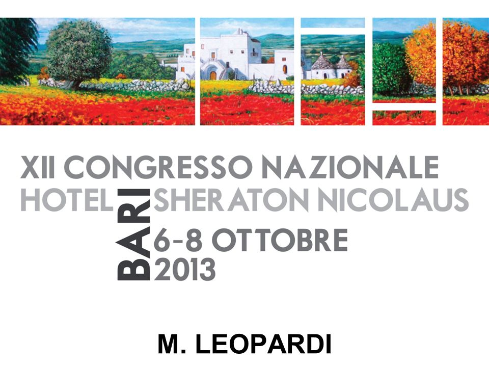 M. LEOPARDI