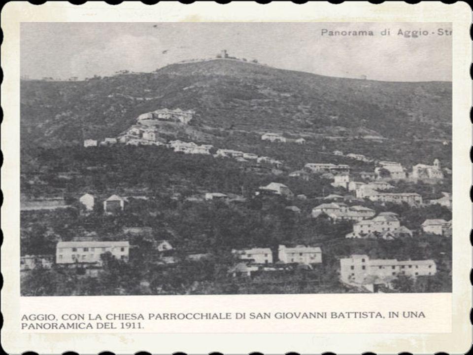 dallaltra parte del torrente e Prato, sorto lungo il tratto della via nazionale prima del tratto appenninico che sale al passo della Scoffera.