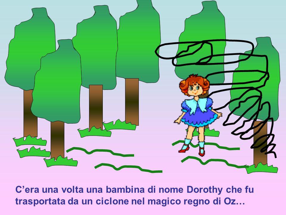 Cera una volta una bambina di nome Dorothy che fu trasportata da un ciclone nel magico regno di Oz…