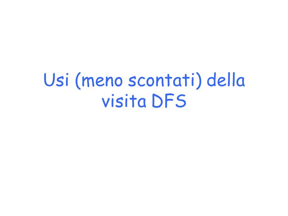 Usi (meno scontati) della visita DFS