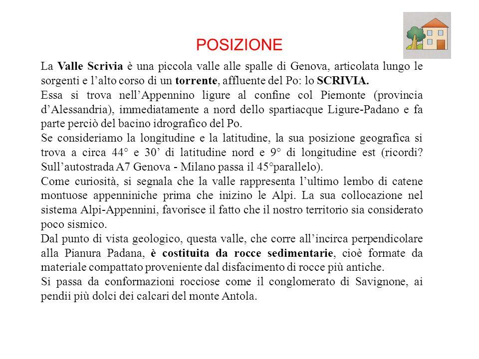 POSIZIONE RILIEVI I PASSI E LE VIE CLIMA ECOMOMIA Fine presentazione