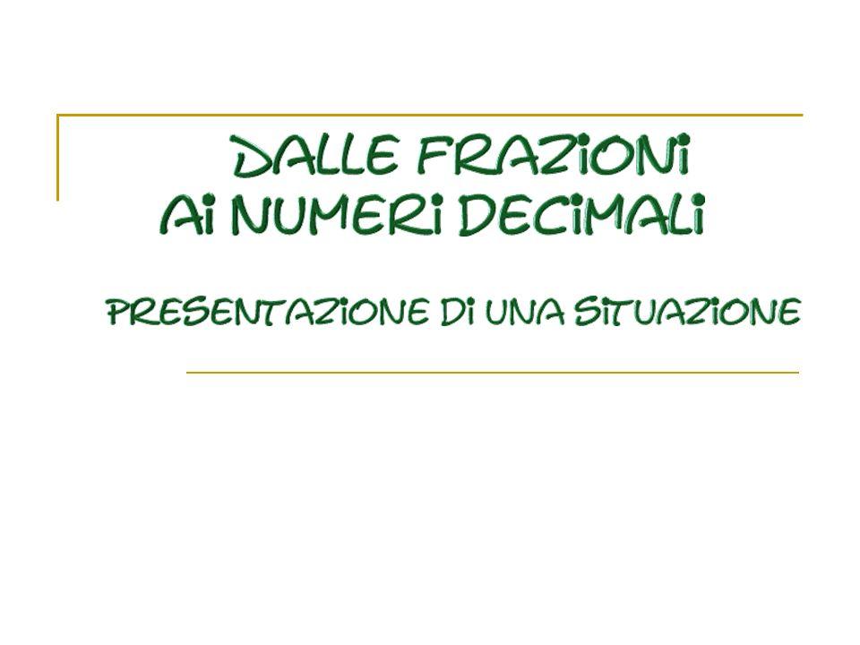 Alcune considerazioni Il caso di LUCIA … Durante una situazione di valutazione sui numeri decimali, LUCIA ha dato le seguenti risposte: 2,4 + 3,7 = 5,11 0,2 x 0,2 = 0,4 3,54 < 4,5 < 4,17 (bisognava mettere nel giusto ordine tre numeri…) Scrivere un numero che sta fra 4,235 e 4,236.