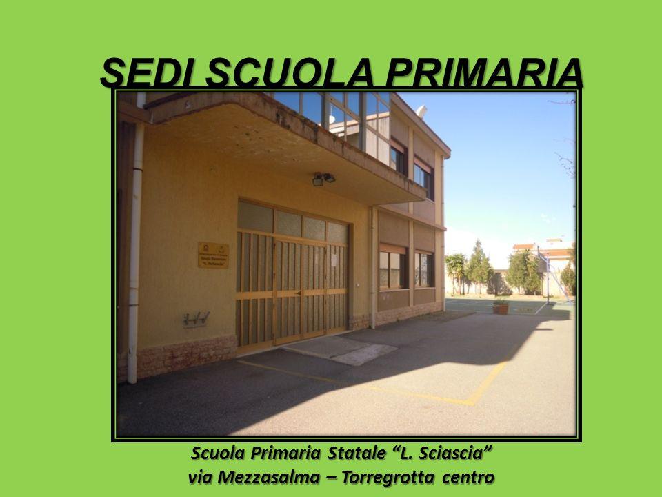 Scuola Primaria Statale L. Sciascia via Mezzasalma – Torregrotta centro SEDI SCUOLA PRIMARIA