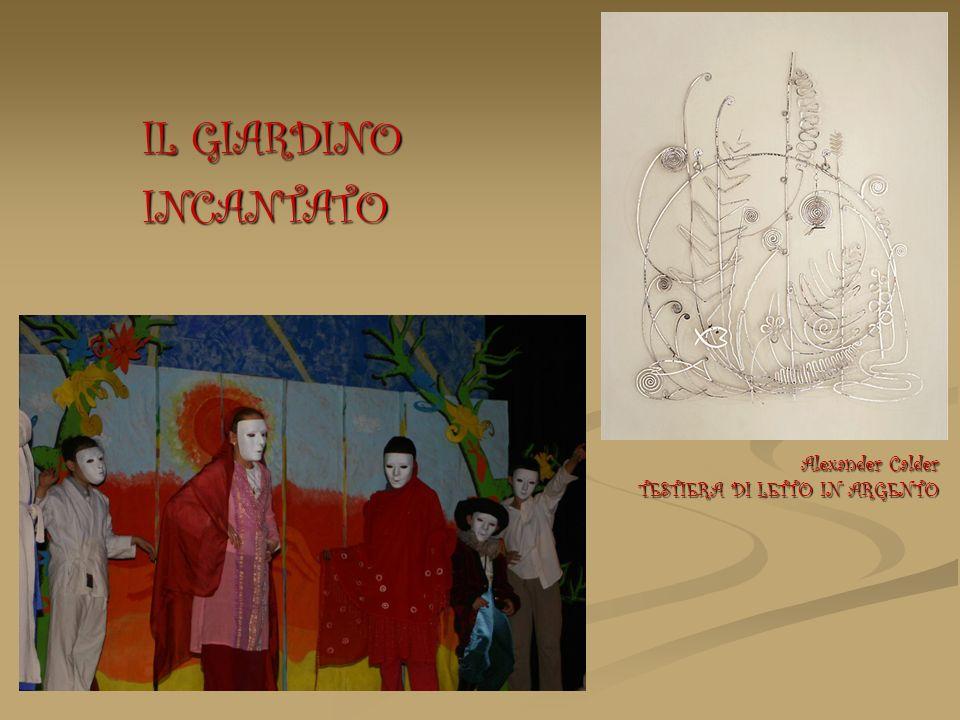 IL GIARDINO INCANTATO Alexander Calder TESTIERA DI LETTO IN ARGENTO