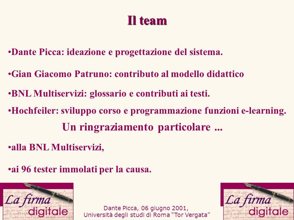 Dante Picca, 06 giugno 2001, Università degli studi di Roma Tor Vergata Gian Giacomo Patruno: contributo al modello didattico Hochfeiler: sviluppo cor