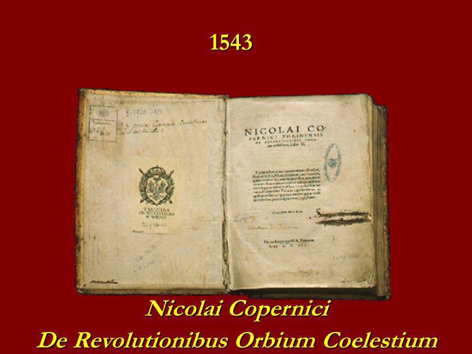 Nicolai Copernici De Revolutionibus Orbium Coelestium 1543