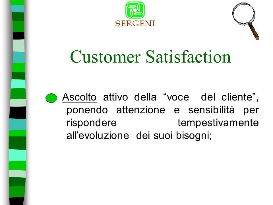 Customer Satisfaction SERGENI E………….