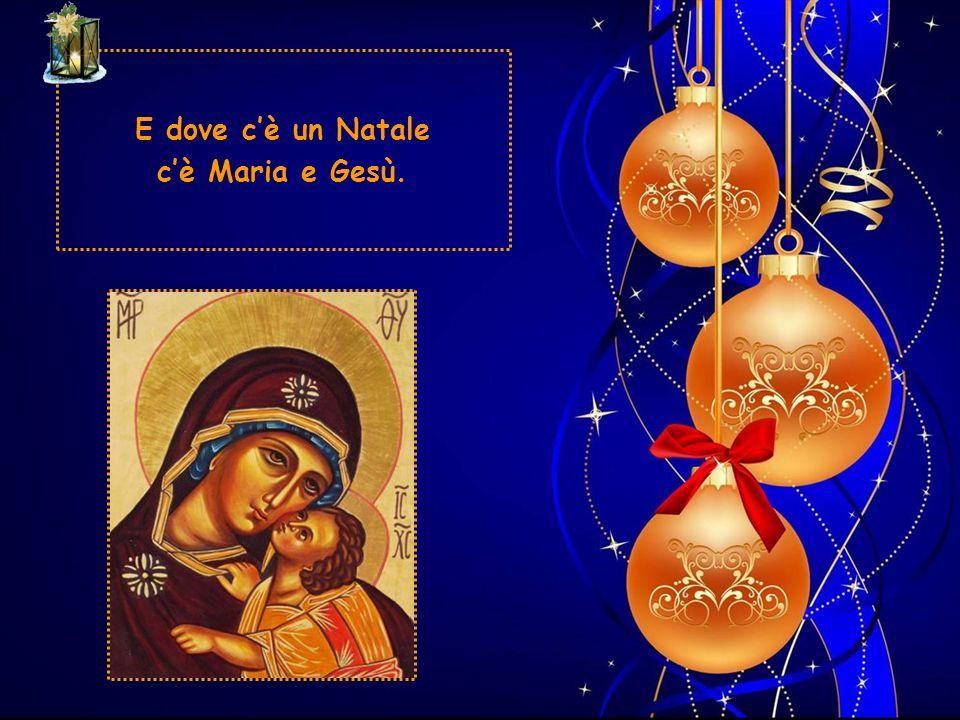 Se questa cè, anche nella stalla in cui alle volte è ridotta la nostra società, se noi ci amiamo, Cristo è in mezzo a noi: ed il Natale si perpetua, s