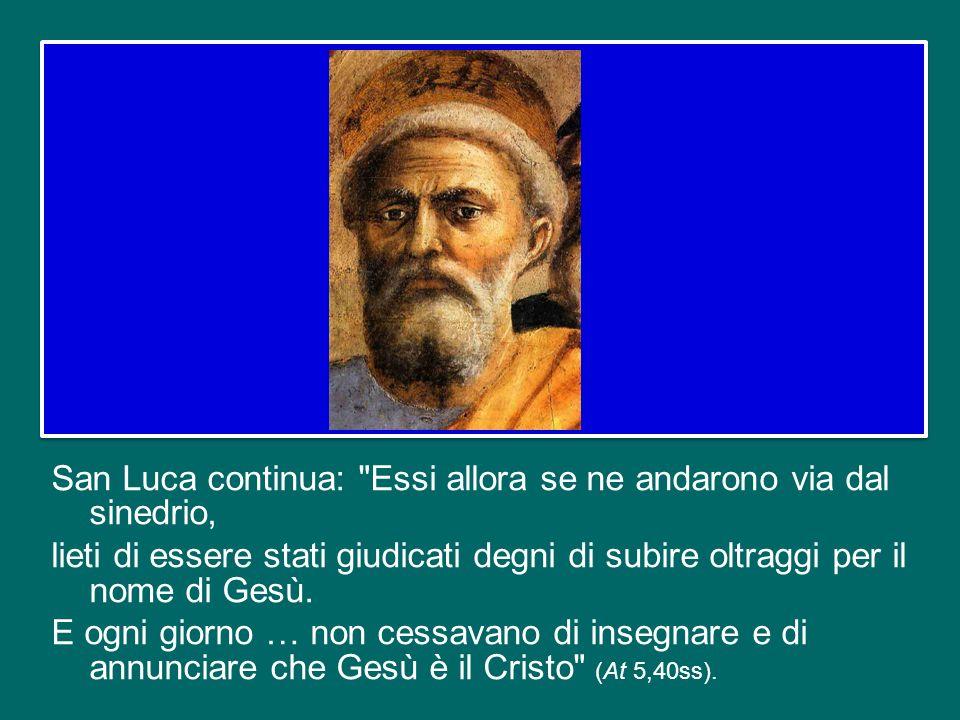 In questo contesto mi viene in mente un episodio degli inizi del cristianesimo che san Luca narra negli Atti degli Apostoli.