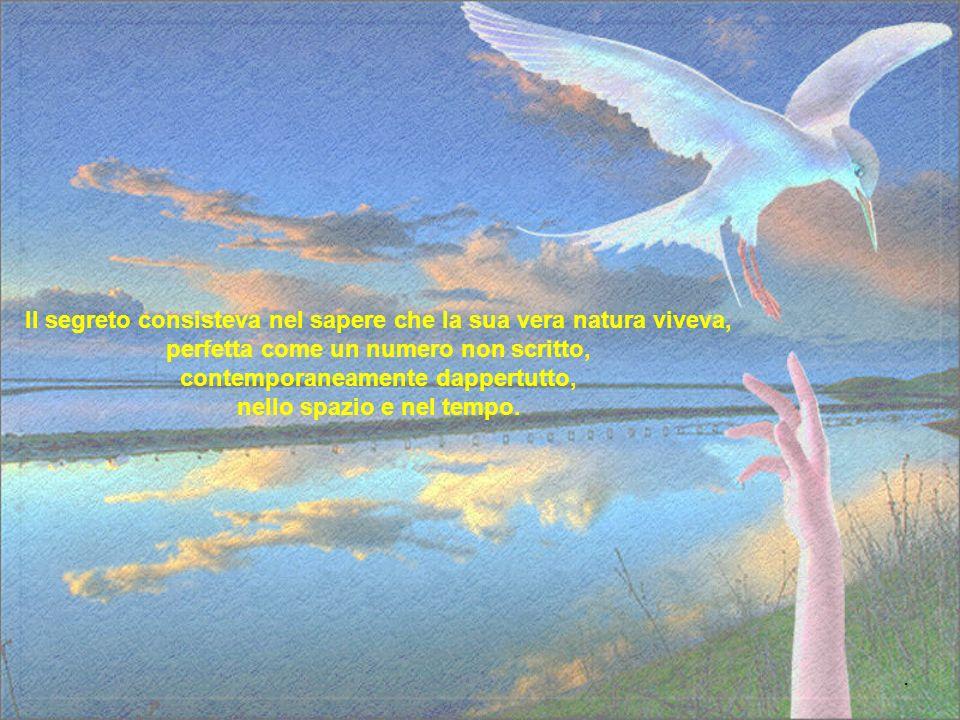 Il Vostro corpo, dalla punta del becco alla coda, dall'una all'altra punta delle ali, non è altro che il vostro pensiero, una forma del vostro pensier