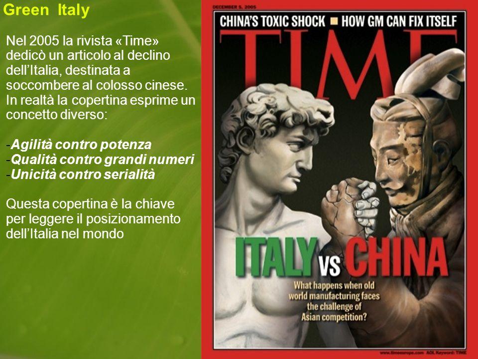 Nel 2005 la rivista «Time» dedicò un articolo al declino dellItalia, destinata a soccombere al colosso cinese.