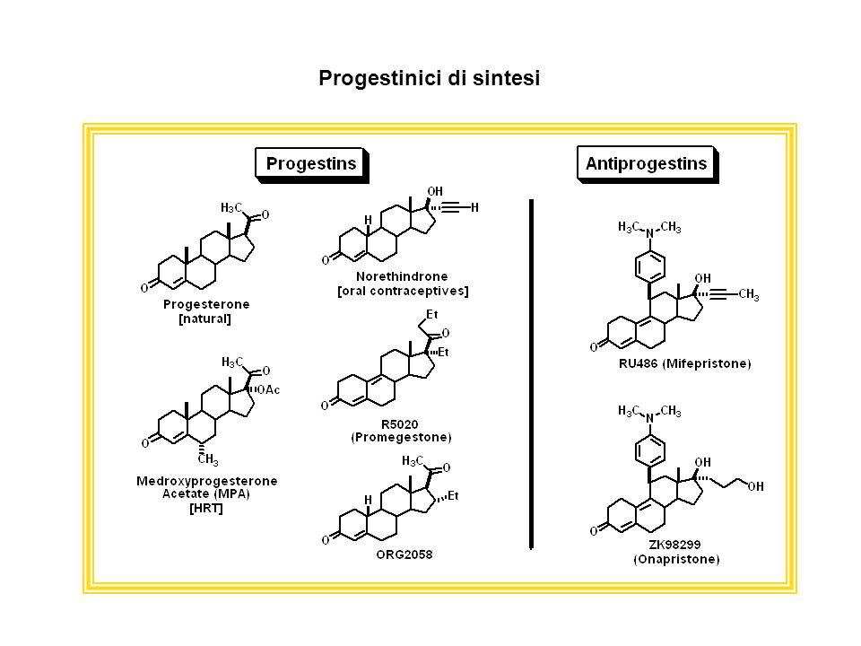 Progestinici di sintesi