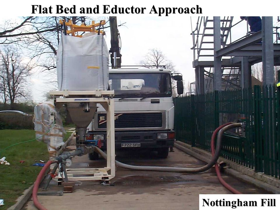 Flat Bed and Eductor Approach Nottingham Fill