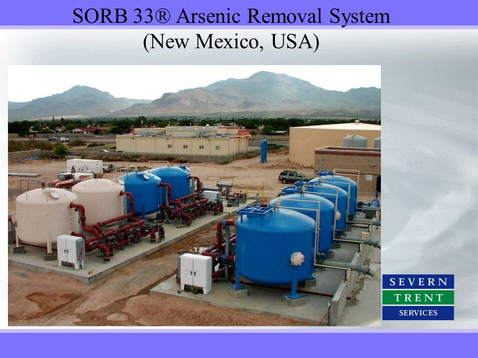SORB 33® Arsenic Removal System (New Mexico, USA)