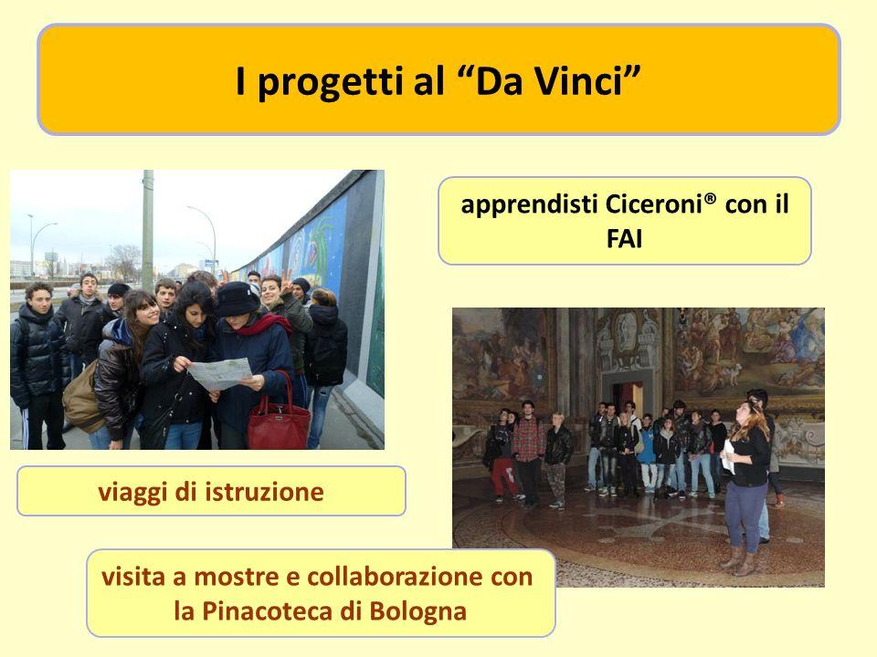 viaggi di istruzione apprendisti Ciceroni® con il FAI visita a mostre e collaborazione con la Pinacoteca di Bologna