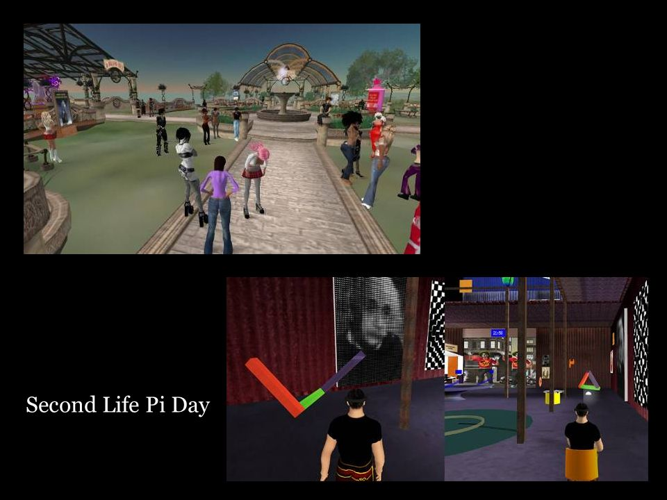 Second Life Pi Day