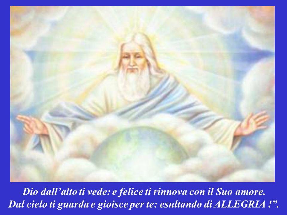 Popolo mio, non temere. Nessuna sventura può abbatterti: perché Dio è sempre al tuo fianco.