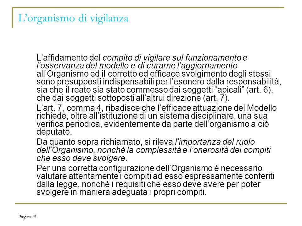 Pagina 10 I reati presi in esame1 di 3 Le fattispecie prese in esame per la redazione del modello possono essere comprese, per comodità espositiva, nelle seguenti macro-categorie: Delitti contro la Pubblica Amministrazione (artt.