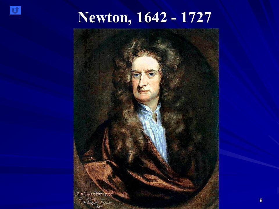 8 Newton, 1642 - 1727