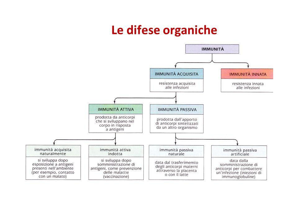 Le difese organiche