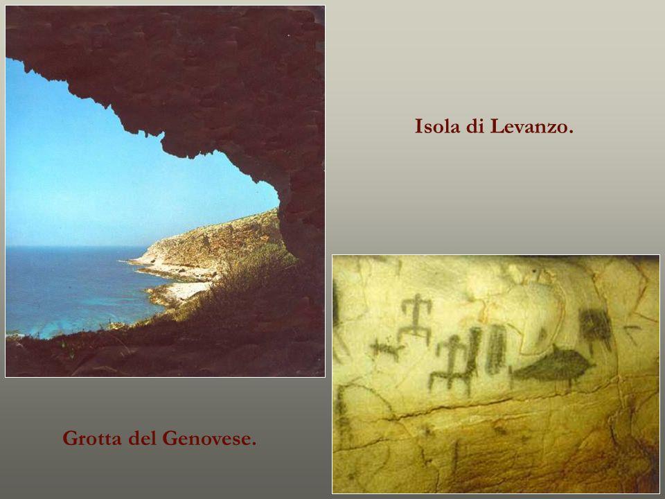 Isola di Levanzo. Grotta del Genovese.