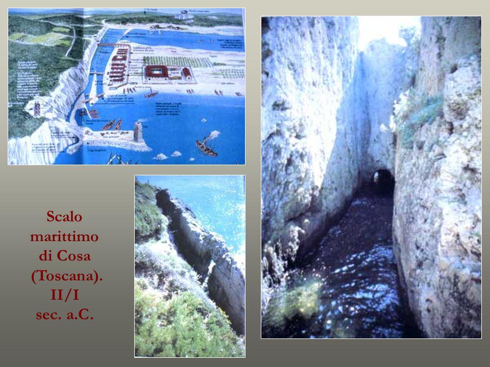 Scalo marittimo di Cosa (Toscana). II/I sec. a.C.