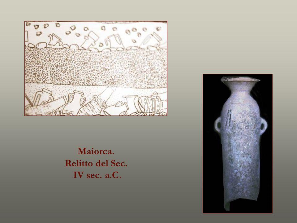 Maiorca. Relitto del Sec. IV sec. a.C.