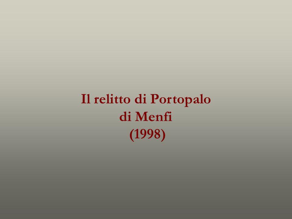 Il relitto di Portopalo di Menfi (1998)