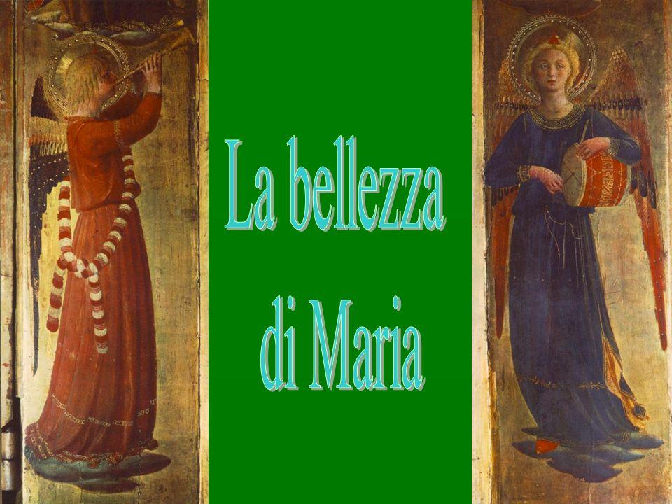 Bernadette vede nella bellezza della bianca signora quanto Maria stessa dirà alla fine delle apparizioni rivelando il suo nome Io sono lImmacolata Concezione.