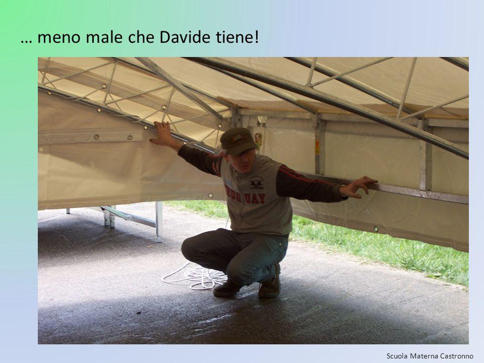 Scuola Materna Castronno … meno male che Davide tiene!