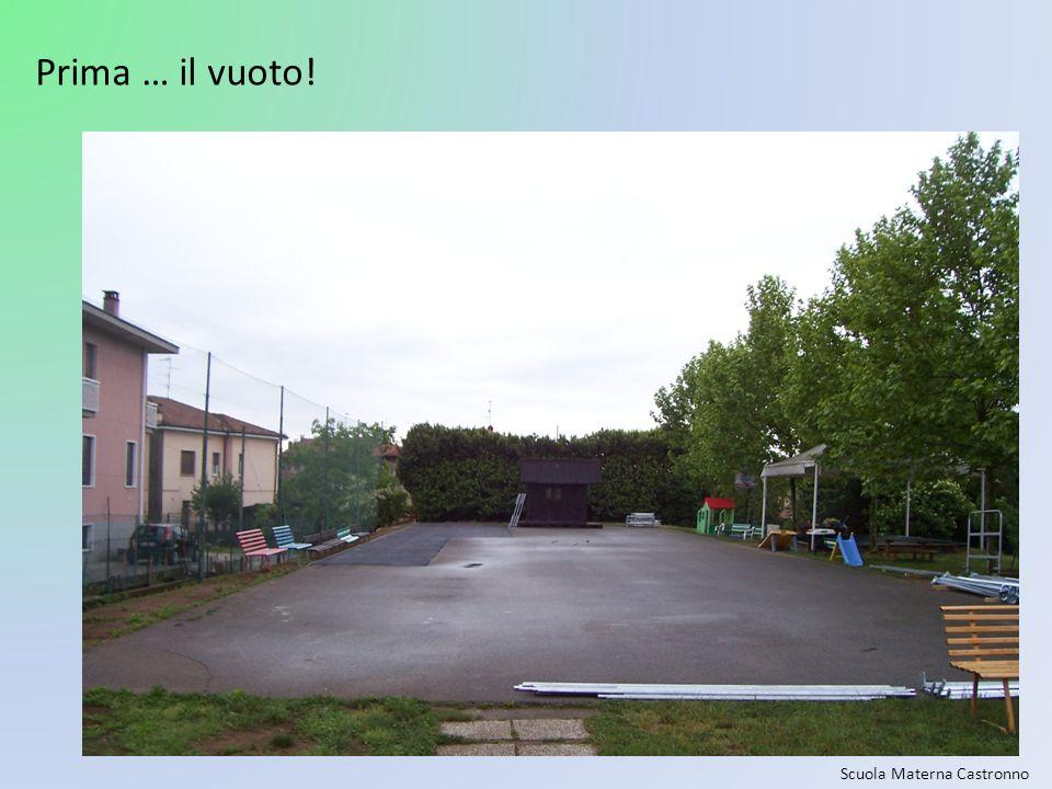Scuola Materna Castronno Prima … il vuoto!