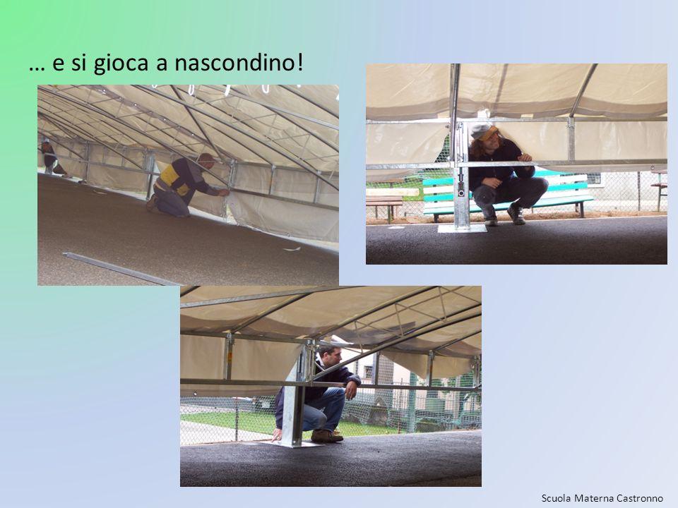 Scuola Materna Castronno … e si gioca a nascondino!